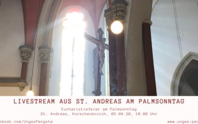 Eucharistiefeier am Palmsonntag / Livestream aus St. Andreas